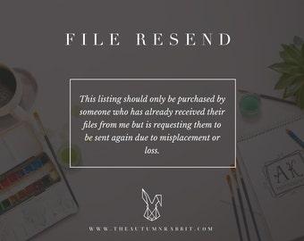 File Resend