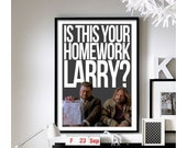 The Big Lebowski ('Homework') Art Print
