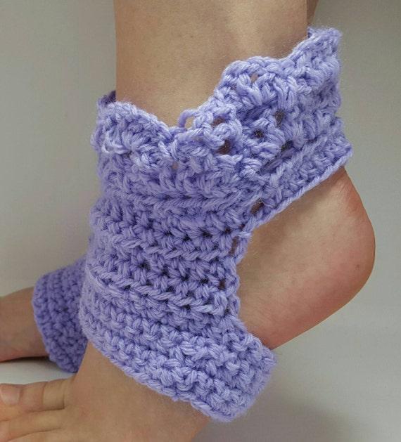 Crochet Pattern Yoga Pants : Crochet Yoga socks. Average ladies size 6 7 1/2. Made by
