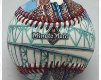 Minute Maid Park- Houston Astros, Astros Fan, Baseball Fan Gift, Astros Fan Gift (SS43)