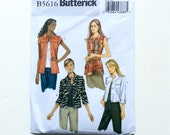 Butterick B5616 Women's Jacket Pattern, Easy Pattern, Size 14, 16, 18, 20, 22, Uncut Pattern