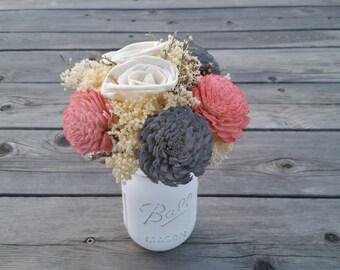 Made to order - Sola flower bouquet, Wedding bouquet, alternative bouquet