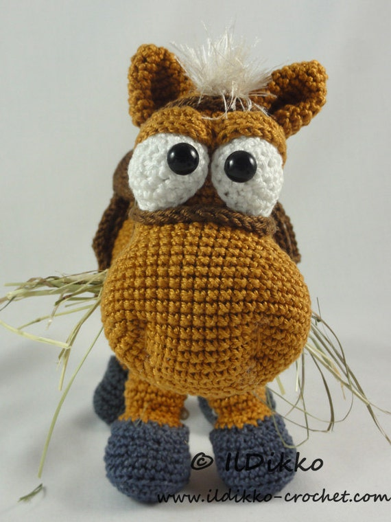 Amigurumi Crochet Pattern - Herbert the Horse from IlDikko ...