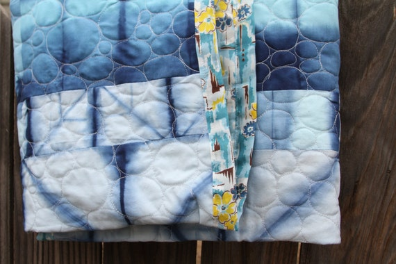 Free motion quilting example