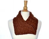 Woven Shells Cowl - Crochet Pattern
