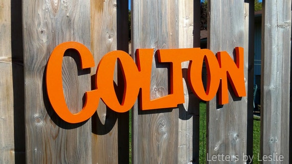 Decor Nursery Letters Wooden Letters For Nursery Kids Personalized