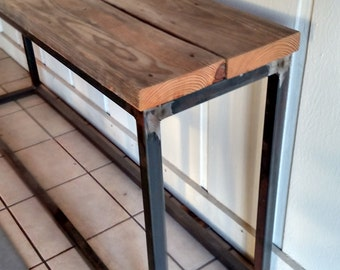 Industrial Style Sofa or Console Table