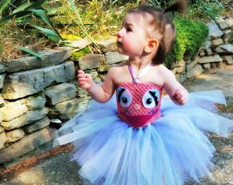 Abby Cadabby Tutu Set, Birthday party, Halloween tutu costume, Sesame street