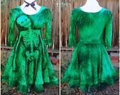 Dead Doll Costume // Zombie Costume // Skeleton dress // Halloween Costume // Zombie Dolly // Halloween Dress