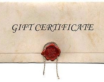 Primigram Gift Certificate...25.00