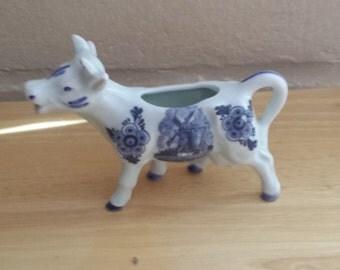 Delft Cow Creamer