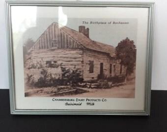 Chambersburg Dairy Products Calendar  1961