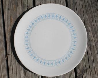 Homer Laughlin Vogue Ironstone Fleur de Lis Platters - Set of 2