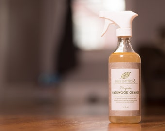 Organic Hardwood Cleaner for Floors, Furniture and Cabinets