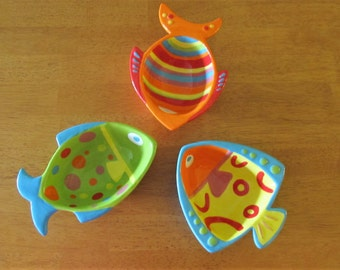 Fish Dip, Snack, Condiment Dishes, Party Servers, Pottery, Ceramic