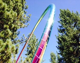 Watermelon Haze Specialty Taped Practice Hoop -  By Colorado Hoops