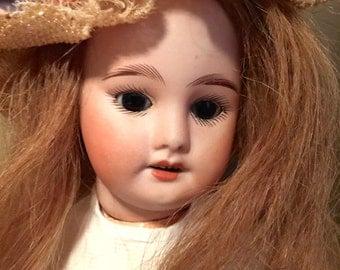 S F B J Paris  Bisque Head Doll 60