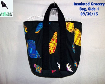 Insulated Grocery Bag - Sea Shell