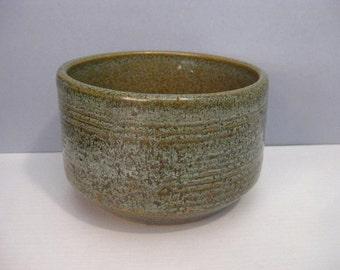 Vintage Zanesville Stoneage Modern Architectural Art Pottery Planter