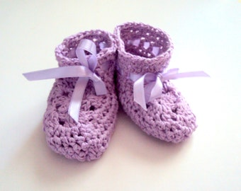 Baby Bootie Slippers Lightweight Slippers Cotton Booties Crochet Baby Shoes Slipper Socks Baby Shower Gift Ideas 0-12 months