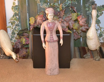 Victorian Wooden Lady