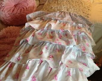 ruffled body pillow case