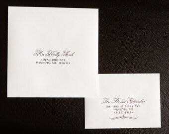 Guest Address Printing