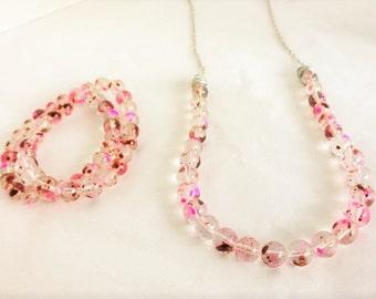 Raspberry Chocolate Jewelry Set