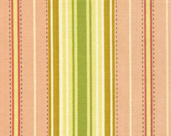 Freshcut Lounge Stripe in Pink by Heather Bailey for Free Spirit Fabrics D1586-702- Half Yard or By the Yard
