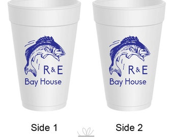 16oz Styrofoam Cups Personalized, 100 count