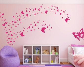 Butterflies Vinyl Wall Art Graphic Decal
