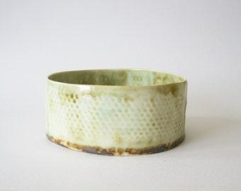 Handbuilt porcelain bowl