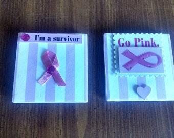 Breast Cancer Awareness, Tiles, 3X3, October