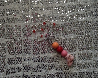 Stone Stitch Markers Set