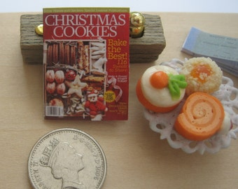 dollhouse magazine christmas cookies 12th scale miniature