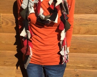 Upcycle Sweater Scarf