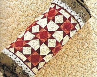 Pillow Party! Creating Pillows from Quilt Blocks Pamela Lundquist Decorative Pillow Cases Shams Neckrolls Wedge Pillow Patterns