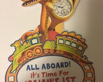 Dinosaur Train Centerpiece