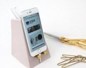 STAK Ceramics Tempo Phone Dock, Orchid