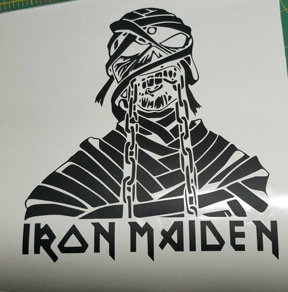 Iron Maiden Killers Stencil By Madog09 On Deviantart