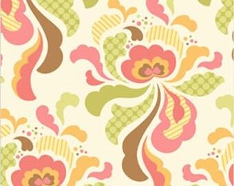 Heather Bailey Fabric Freshcut Groovy Brown