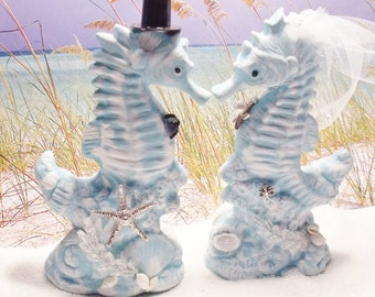 Adirondack Large Seahorse Wedding Table Decor or Topper