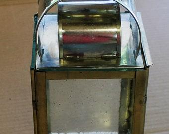 Tin Candle Lantern HA-46R/Tin