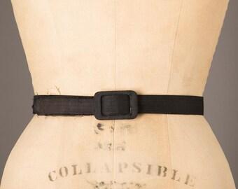 Black Silk Belt | Small