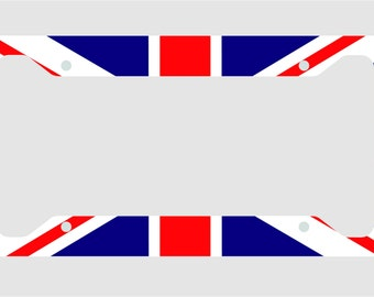 London Calling - British Flag - U.K. - Union Jack- Great Britain - License Plate Frame