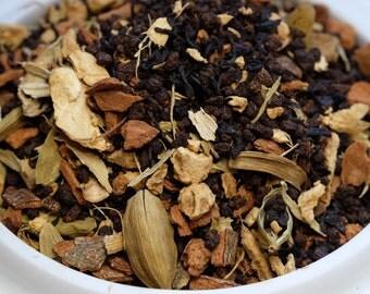 Chai  Black Tea: Mango Chai Black Tea Blend Loose Tea Blend