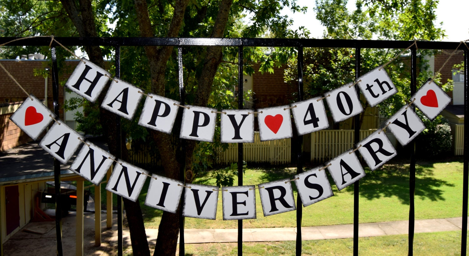happy anniversary banner banners congrats banner customize