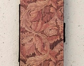 iphone 4, 5 or 6 case -  Galaxy S3 S4 mini S5 - wallet flip case - cover - Acanthus - William Morris - Floral - Flower - Arts and Crafts