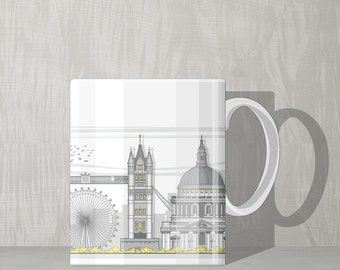 Architectural Mug - London landmarks