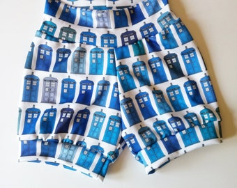 Doctor Who TARDIS shorties